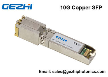 Chiny 10G SFP+ Copper Transceiver 10GBASE-T SFP Module  RJ45 Cisco Compatible dostawca