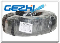 Chiny Fiber To The Home Optical Patch Cable 1 Core LSZH SC / SC LSZH 300M Black Steel fabryka