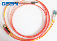 Chiny Mode Conditioning Duplex Fiber Optic Patch Cable ( 50 / 125 um ) - LC  to FC fabryka