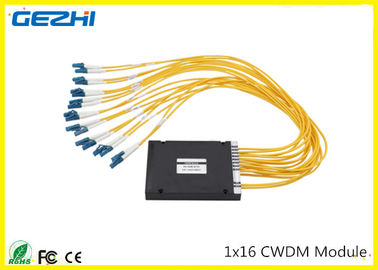 Chiny 1x16CH CWDM Mux Demux Module 1260~1620nm LC connecter Multiple wavelengths to choose dystrybutor