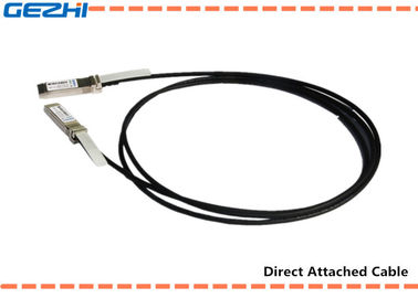 Chiny 10G SFP+ to SFP+ DAC Cables Direct Attach Passive Copper Cable For Storage Area Networks dystrybutor