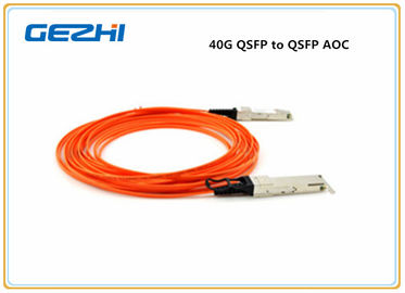 Chiny Assembly 40G QSFP to QSFP Breakout Active Optical Cable Compatible Cisco QSFP-H40G-AOC7M dystrybutor
