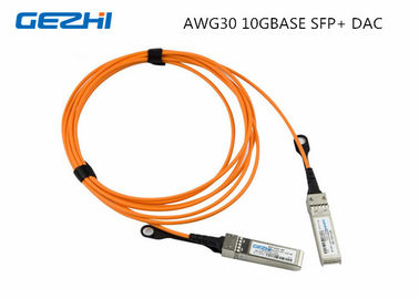 Chiny SFP+ Direct Attach Twinax Copper DAC Cables 0.5M AWG30 10GBASE dystrybutor