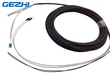 Chiny DFC - DLC 2 Core FTTA Fiber Optic Patch Cord , White And Black Single Mode Pigtail dystrybutor