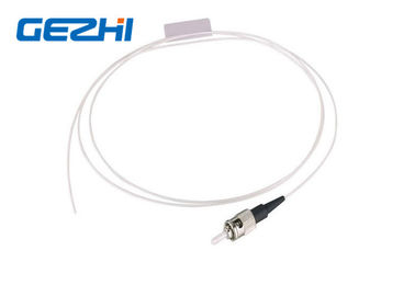 Chiny ST UPC SM SX Fiber Optic Pigtail Single Mode Simplex White Cable for FTTB dystrybutor