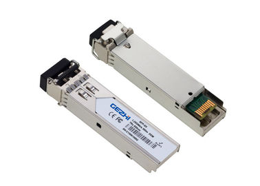 Chiny 1G SFP 1310nm 20km SFP transceiver SFP Fiber Module compatible with verious brand fabryka