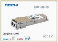 SR4 Optical Transceiver 40G QSFP+ Module for Infiniband transmission at 4ch SDR DDR QDR